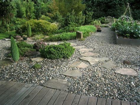 Gravel Garden Design Ideas Vorgartengestaltung Mit Kies 15 Vorgarten Ideen