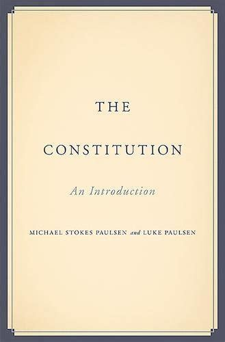 the introductory section of the us constitution a book review by joan m burda the constitution an