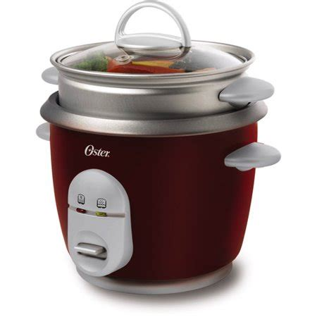 Vio Tech Ip C1100 W by Oster 6 Cup Rice Cooker And Steamer 4722 Walmart