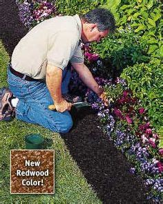 Gardeners Supply Edging Recycled Rubber Mulch On Rubber Mulch Mulches