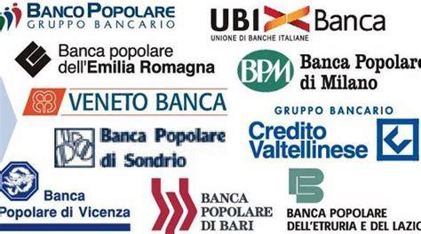 banche popolari in italia banche popolari in spa il decreto diventa legge via al