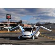 Flying Car Takes Off From A Runway But Still Fits Inside Your Garage