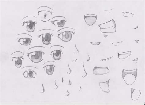 anime eyes nose eyes noses and mouths anime style by i am so me on