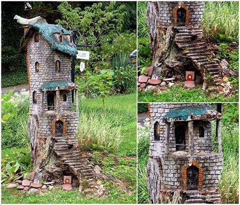 Stump Decorations 5 Creative Ideas To Decorate With Tree Trunks Or Stumps