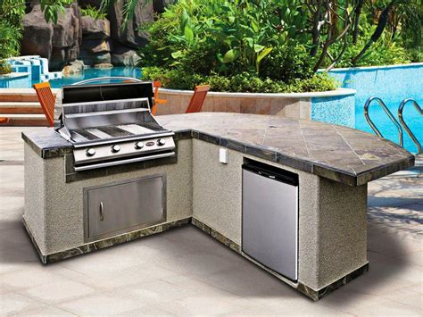 Prefabricated Outdoor Kitchen Islands by Kitchen Collection New Released Outdoor Kitchen Kits