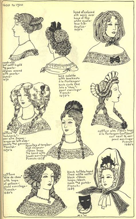 17th Century Hair Styles | 1670 s hairstyle 1600 1700 fashion pinterest lady