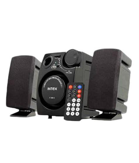Mini Speaker Multimedia Model Kotak buy intex it 880u 2 1 mini desktop speakers black