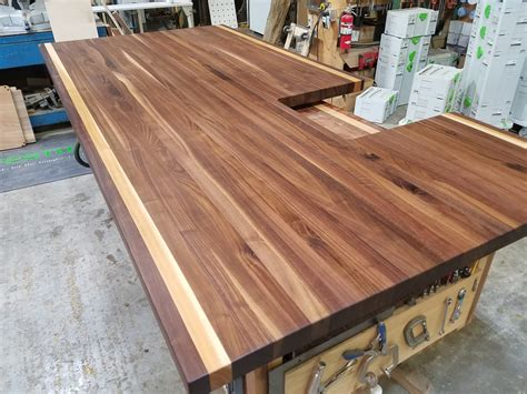 Hickory Countertops by Walnut And Wax W Hickory Stripes Maryland Wood