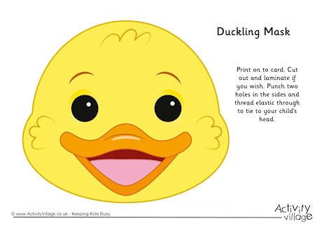 duckling mask