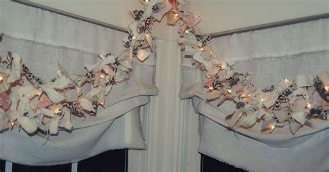 decorative garlands home lighted rag garland diy hometalk
