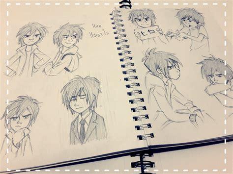 Big 6 Sketches by Hiro Hamada Sketches By Chitandakillumeen On Deviantart