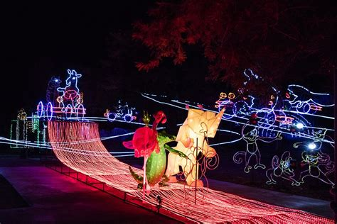 Guide To La Zoo Lights In Griffith Park Los Angeles Guide To La Zoo Lights In Griffith Park Los Angeles