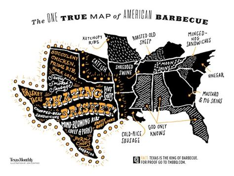 texas bbq map the new bbq map might seem like propaganda to some and to others texas monthly