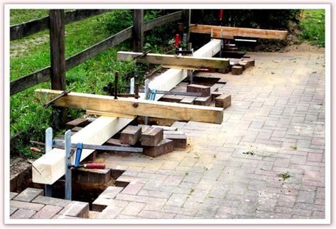 carport fundament carport selber planen und bauen lust sparen de