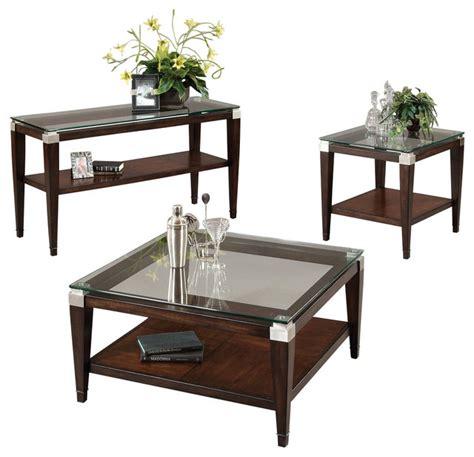 Square Coffee Table Sets Bassett Mirror T1171 Dunhill Square 3 Coffee Table Set Transitional Coffee Table Sets