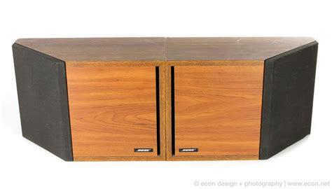 bose cabinet stereo pair vintage bose 2 2 stereo bookshelf speakers wood grain
