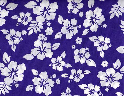 Hawaiian Print Upholstery Fabric by Tropical Hibiscus Floral Cotton Fabric Purple Hawaiian