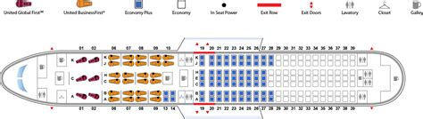 A380 Floor Plan by Boeing 767 300 763 United Airlines