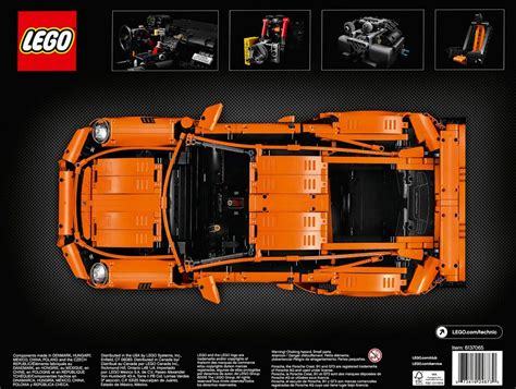 Aufkleber 3b Lego Porsche by Lego Technic Porsche 911 Gt3 Rs 42056 Erscheint Am 1