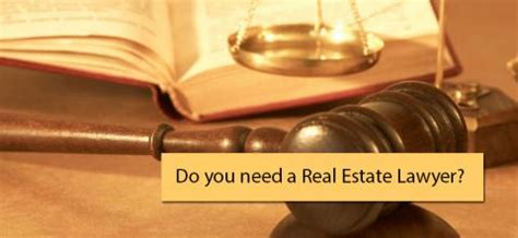 do you need a real estate lawyer while buying home or