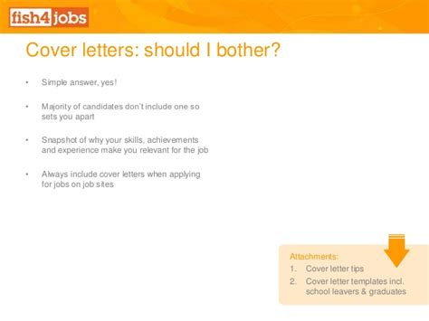 Cover Letter Exles Sell Yourself fish4jobs free webinar selling yourself to employers