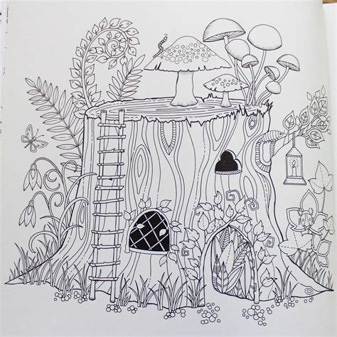 coloring pages for adults enchanted enchanted forest an inky quest coloring book johanna