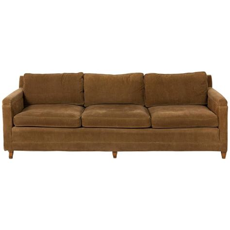 corduroy couches corduroy sofas milo lh full metropolis chocolate brown