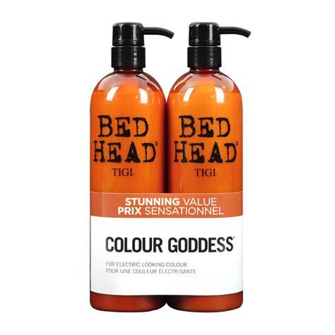 bed head colour goddess tigi bed head colour goddess oil infused shoo