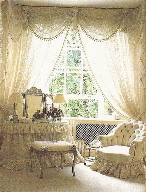 romantic bedroom curtains sweet vanity my romantic shabby chic home pinterest