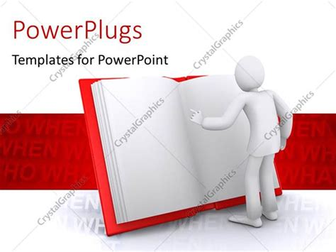 reading powerpoint template powerpoint template human reading interesting information