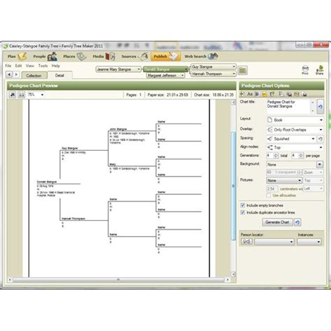 Review Of Family Tree Maker Windows 7 Release Template Maker Software