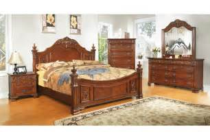 King Size Bedroom Furniture Bedroom Sets Linden Place Cherry King Size Bedroom Set Newlotsfurniture
