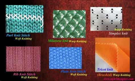 what is warp knitting warp and weft knitting method style2designer