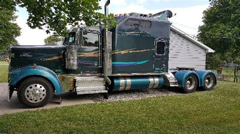 cheap kenworth w900 for sale kenworth w900 in indiana for sale used trucks on buysellsearch