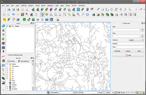 qgis road graph tutorial nugis free and open source gis geoinformatics
