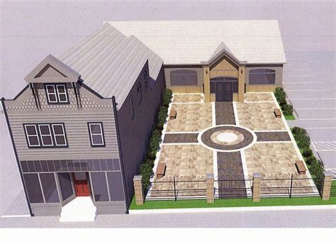 funeral home plans home plan