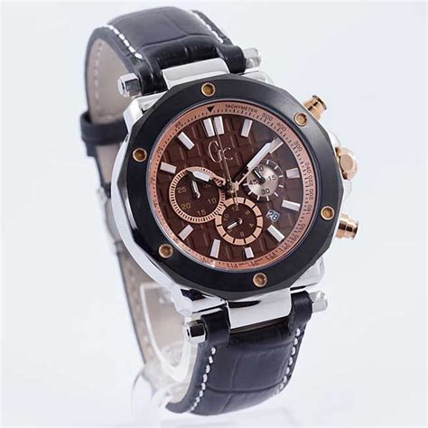 Harga Jam Tangan Merk Gc Guess termurah guess collection gc 3 x72018g4s kulit hitam