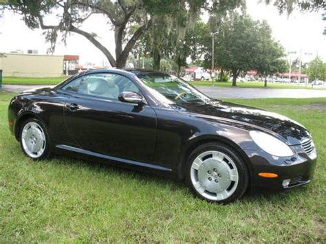 lexus convertible 4 door find used 2003 lexus sc430 base convertible 2 door 4 3l