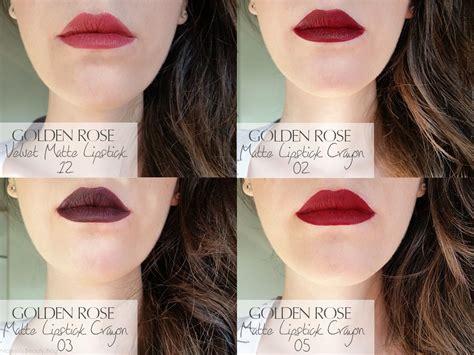 Lipstick Crayon Wardah golden matte lipstick the of