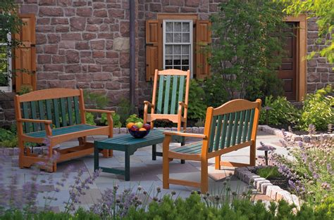 Outdoor Furniture Breezesta Recycled Poly Backyard Patio Backyard Patio Furniture Clearance