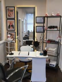 home hair salon nail station salon design on a dime nail