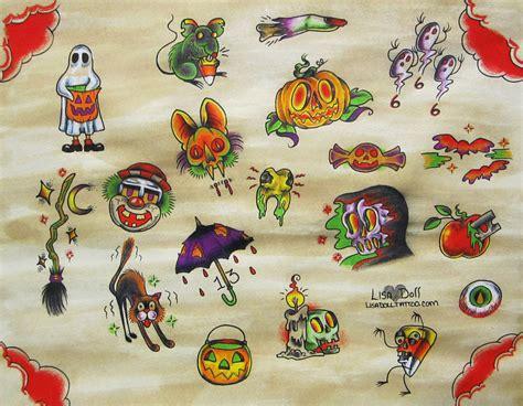 tattoo flash halloween halloween tattoo flash by mutantmuffinz on deviantart