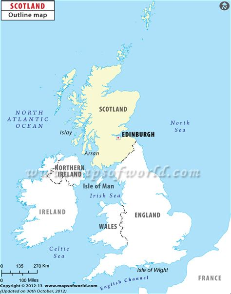 map of scotland and blank map of scotland scotland outline map