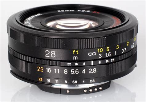 Voigtlander Nikon voigtlander 28mm f 2 8 color skopar sl ii slr lens review