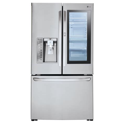 energy door refrigerator shop lg instaview 23 5 cu ft counter depth door