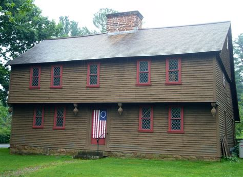colonial house inn colonial american house styles guide 1600 to 1800