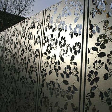 Vorgartenzäune Aus Metall by Moderne Gartenz 228 Une Schaffen Sichtschutz Im Au 223 Enbereich