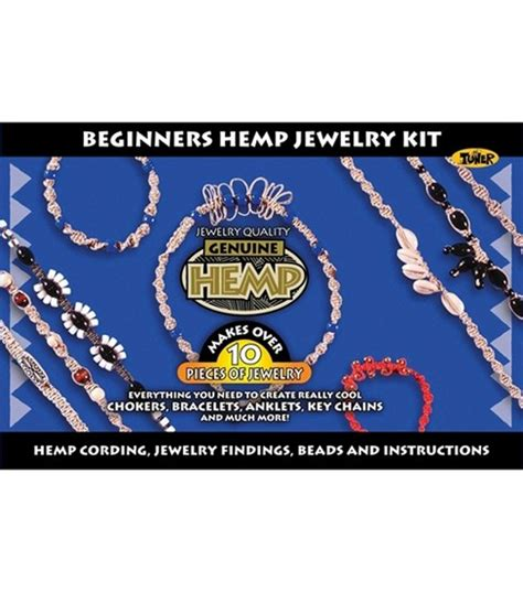beginning jewelry kit beginners hemp jewelry kit jo