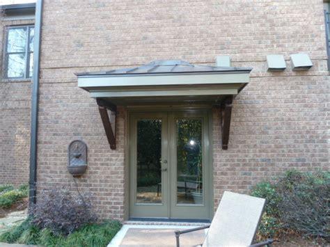how to build a front door overhang door overhang