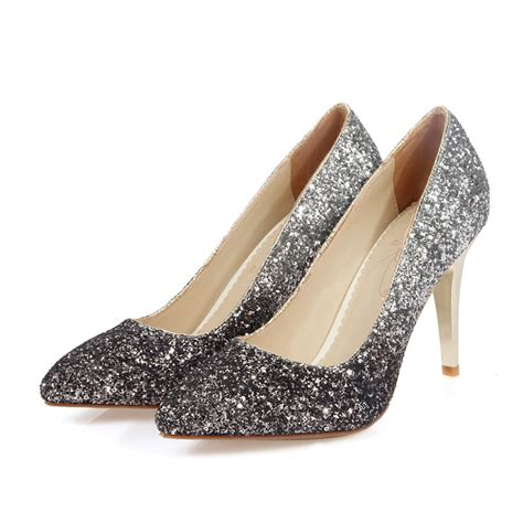 cheap grey high heels popular grey glitter heels buy cheap grey glitter heels